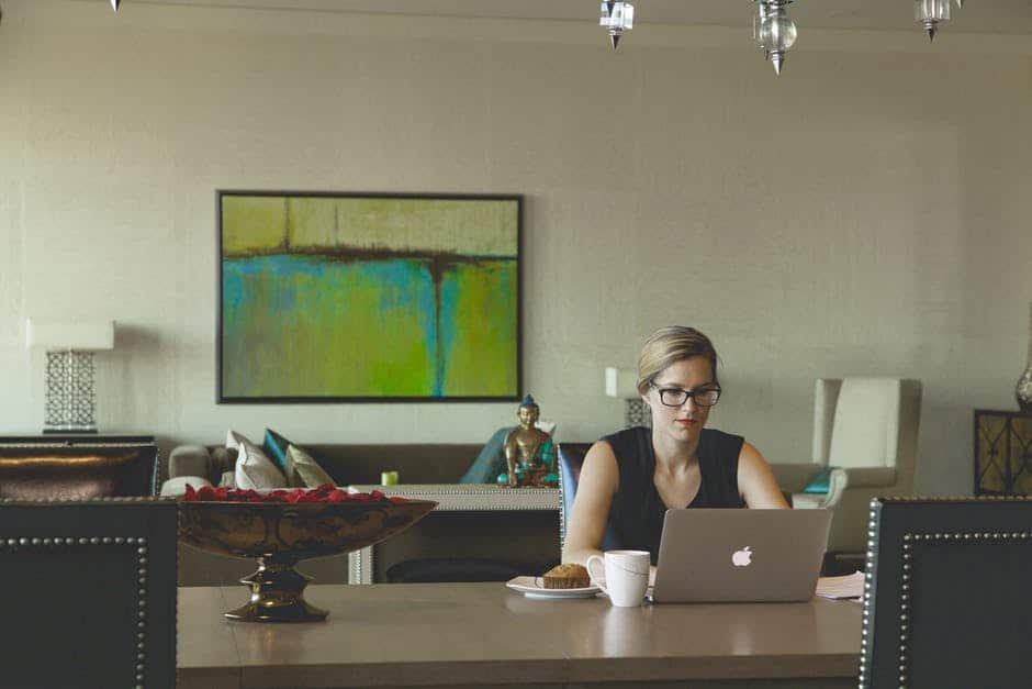 LadyBoss on Laptop