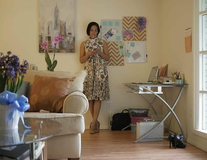 Tiana Starks Home Office