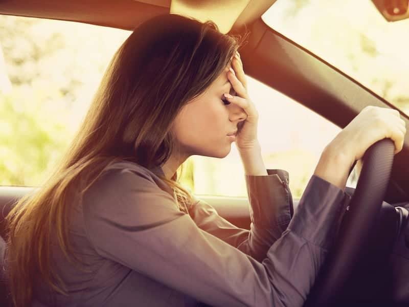 Car accident headache traffic