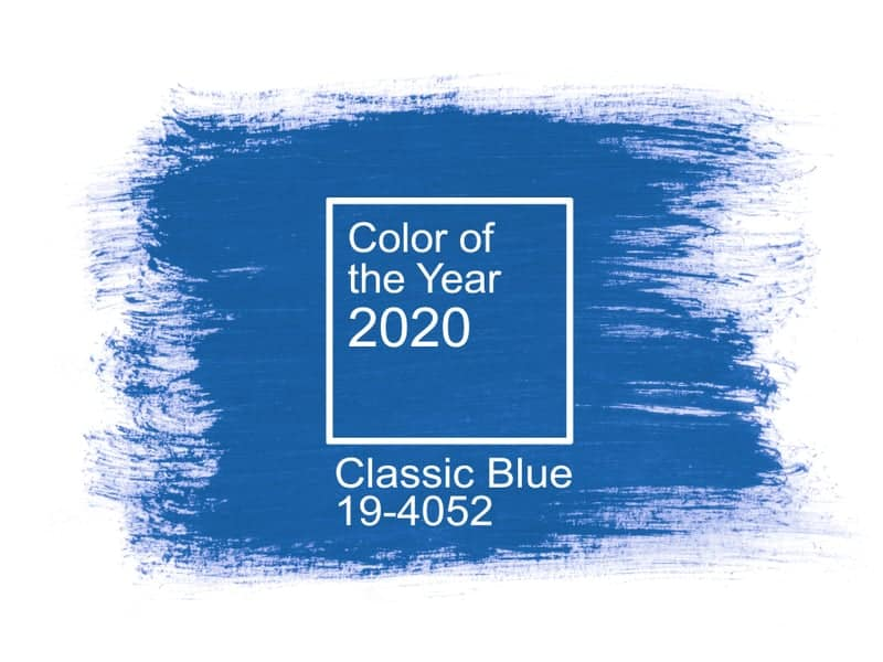 The 2020 PANTONE color of the year