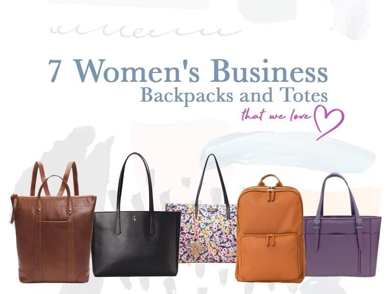 Women's Business Backpacks