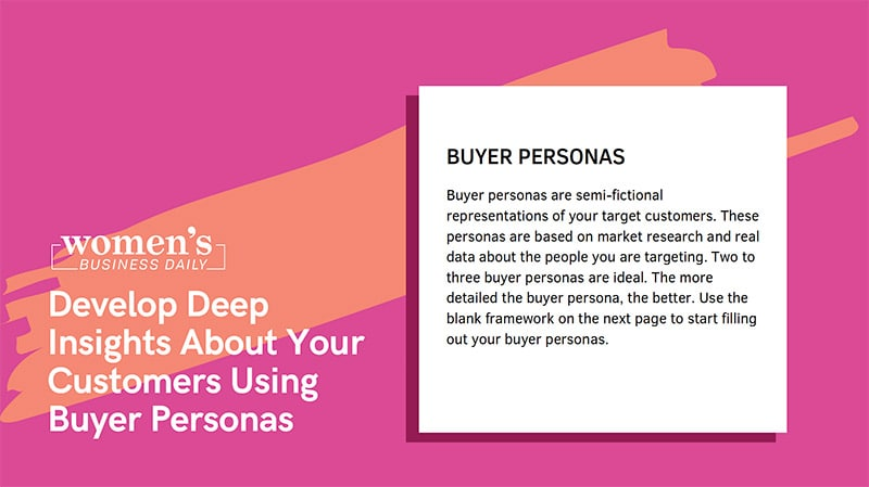 WBD Buyer Personas