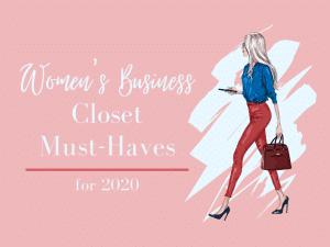 Women's Business Closet Essentials