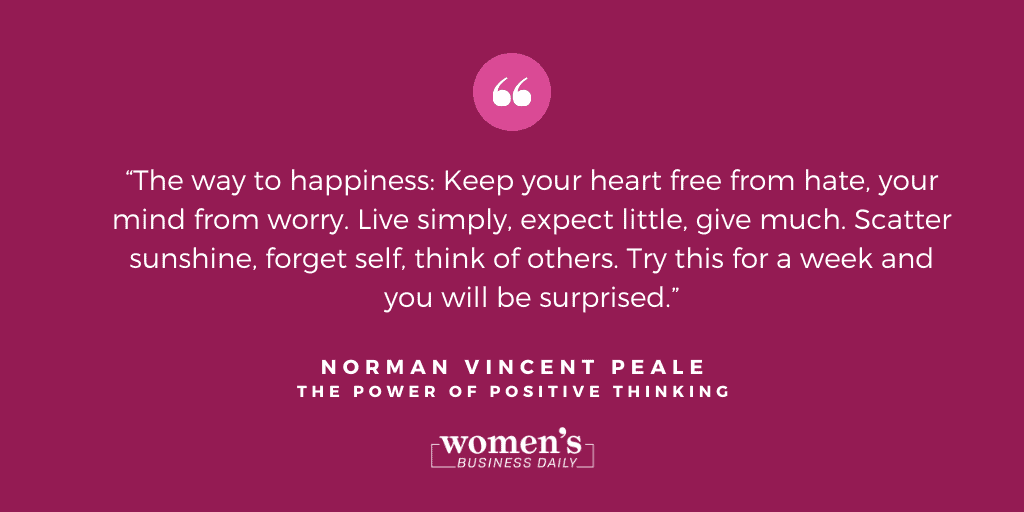 The Power Of Positive Thinking Quote 1