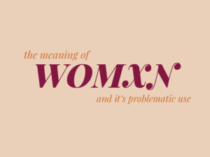 womxn meaning