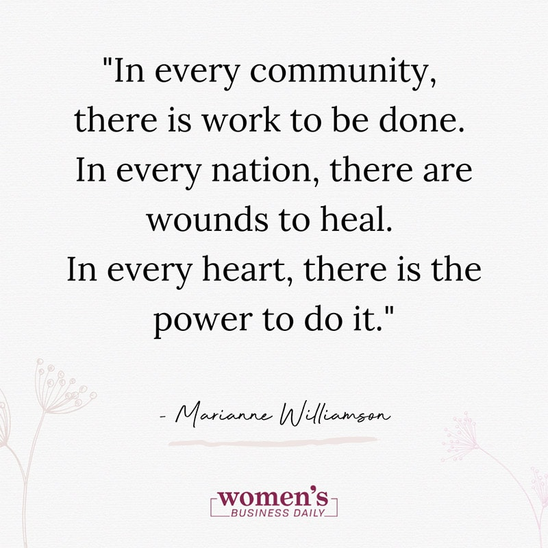 Community Quote - Marianne Williamson