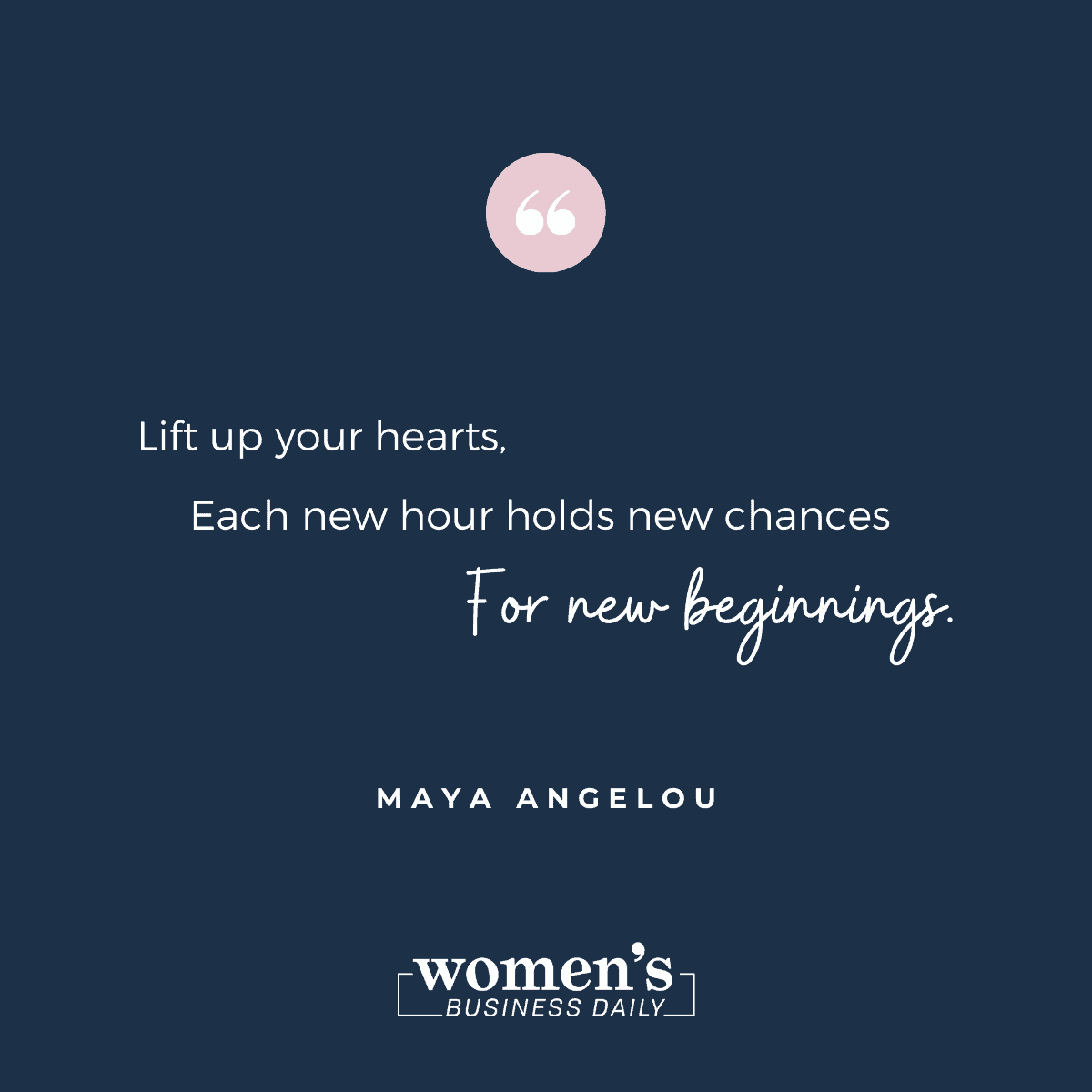 Encouraging Quotes: Maya Angelou
