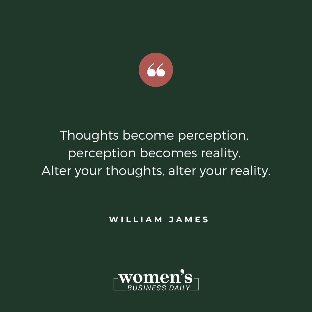 Encouraging Quotes: William James