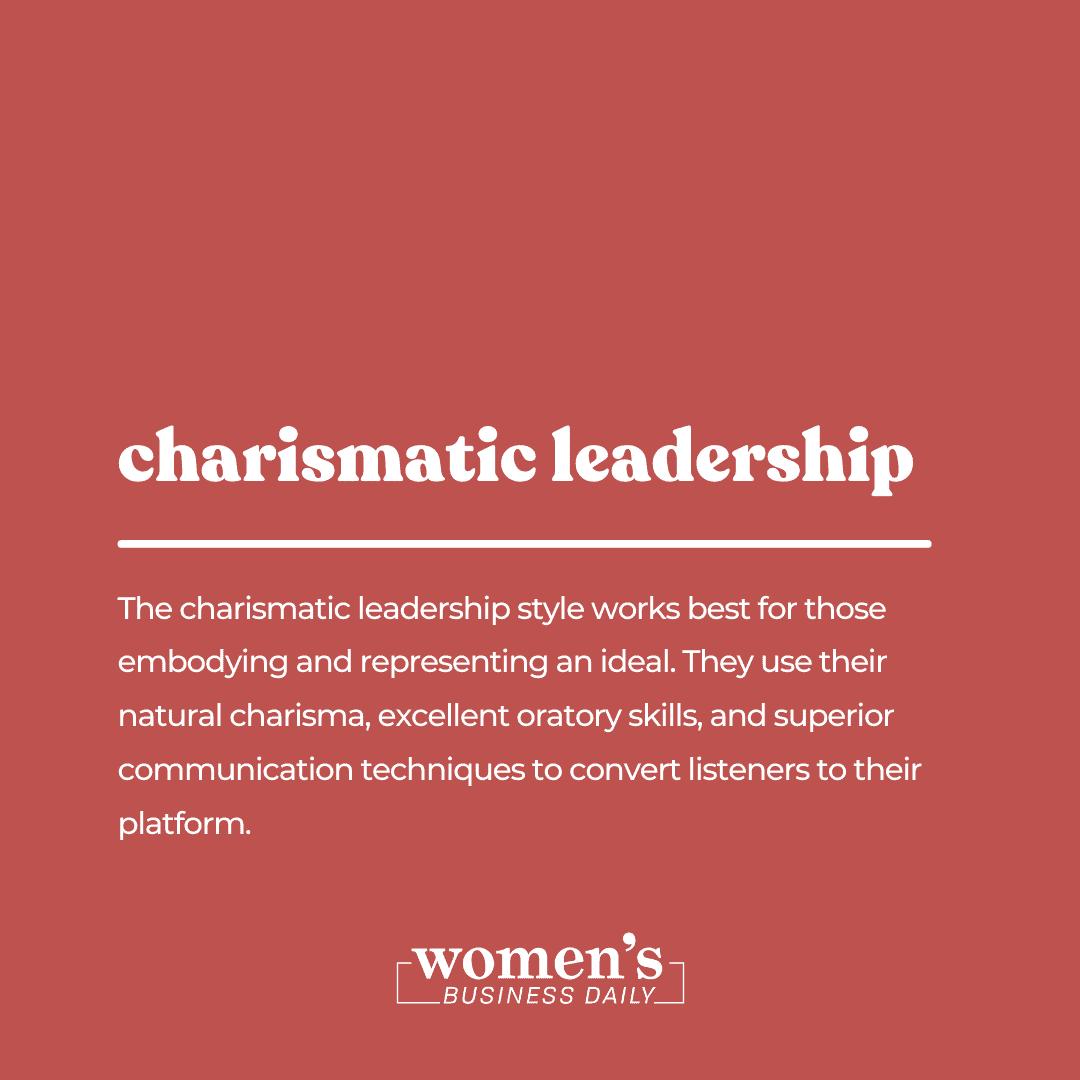 charismatic leadership style