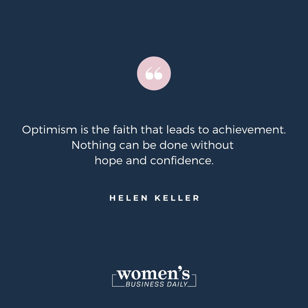 Encouraging Quotes: Helen Keller