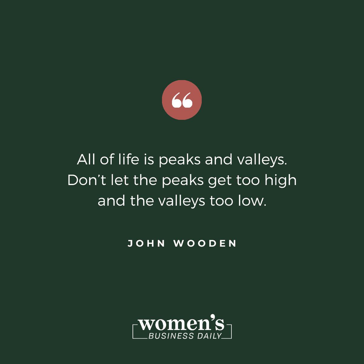 Encouraging Quotes: John Wooden