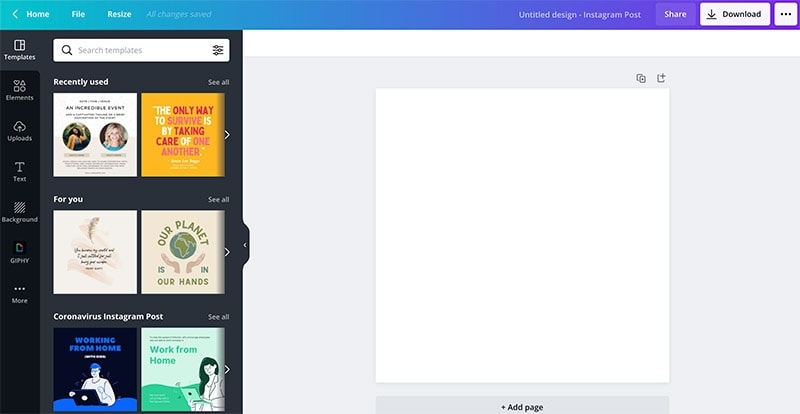 Canva Templates: Create a Design