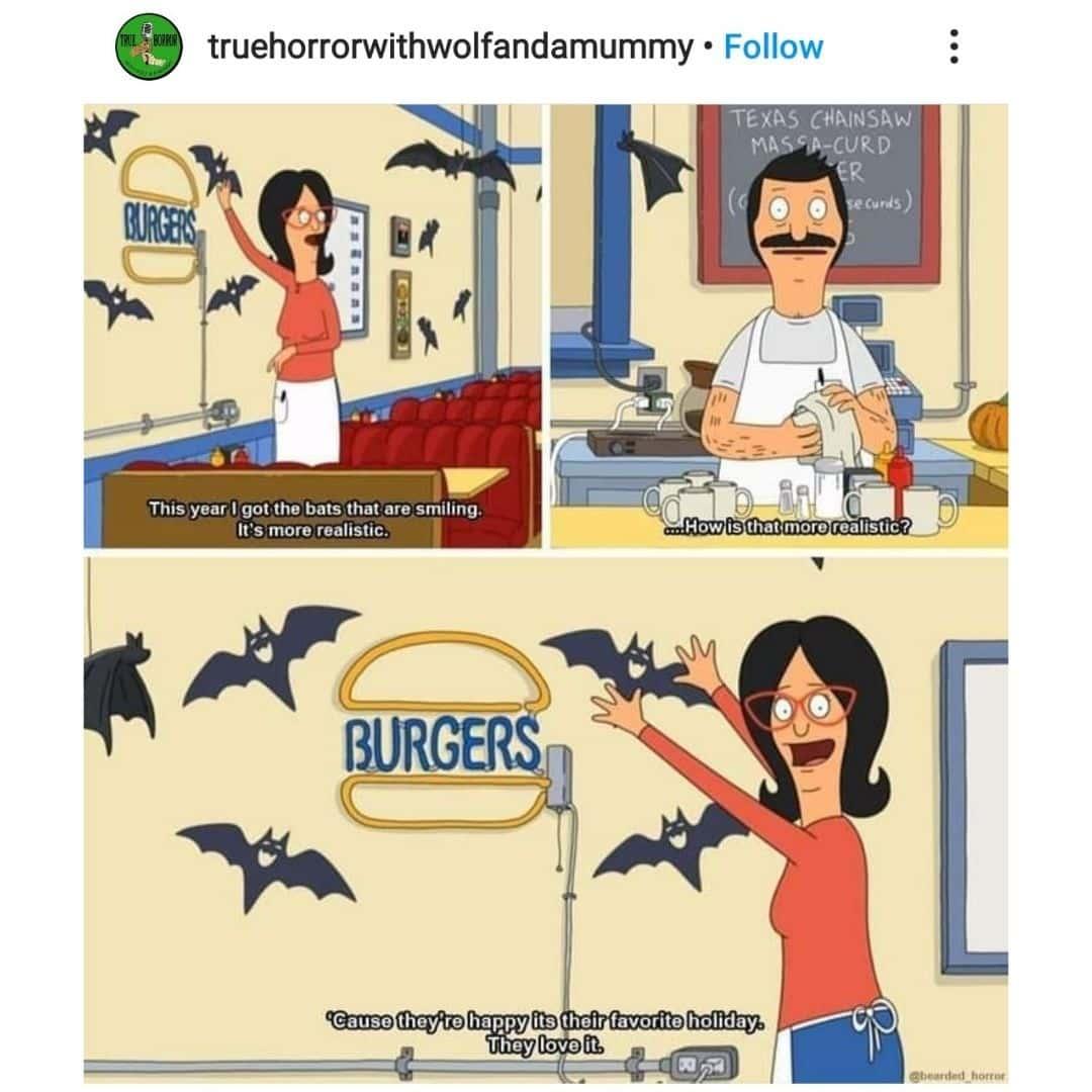 Bob's Burgers Celebrates Halloween Meme