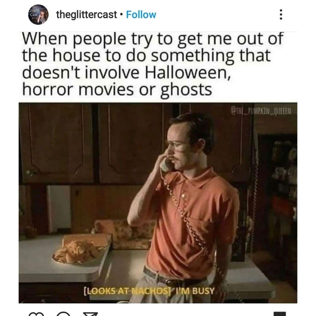 It's Nacho Time Halloween Meme