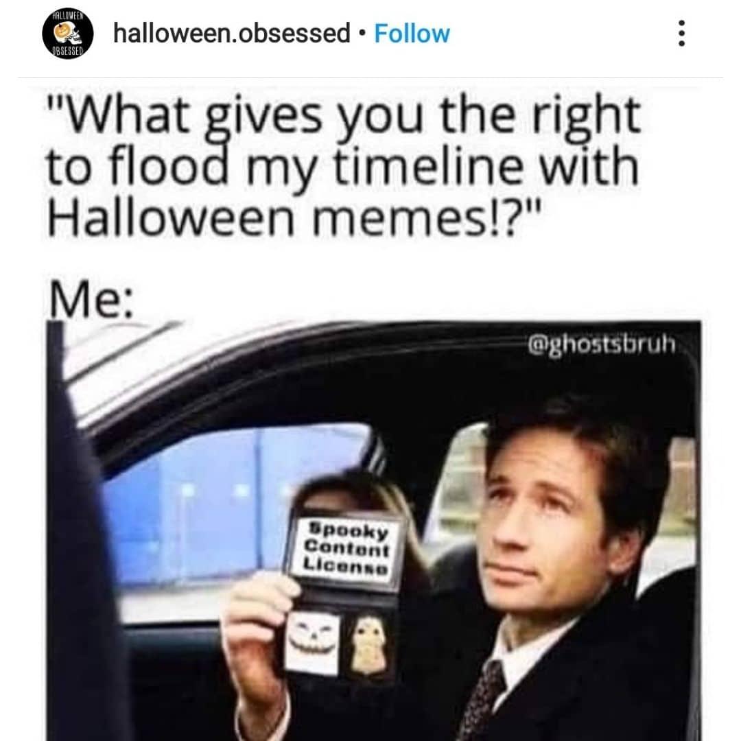 It's the Spooky Meme Police