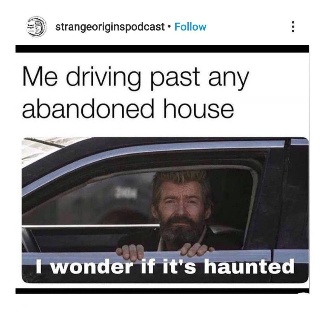 Real Life Haunted House Halloween Meme