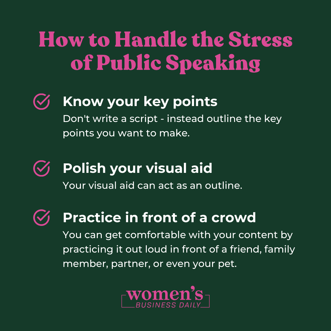 How to Handle the Stress of Public Speaking