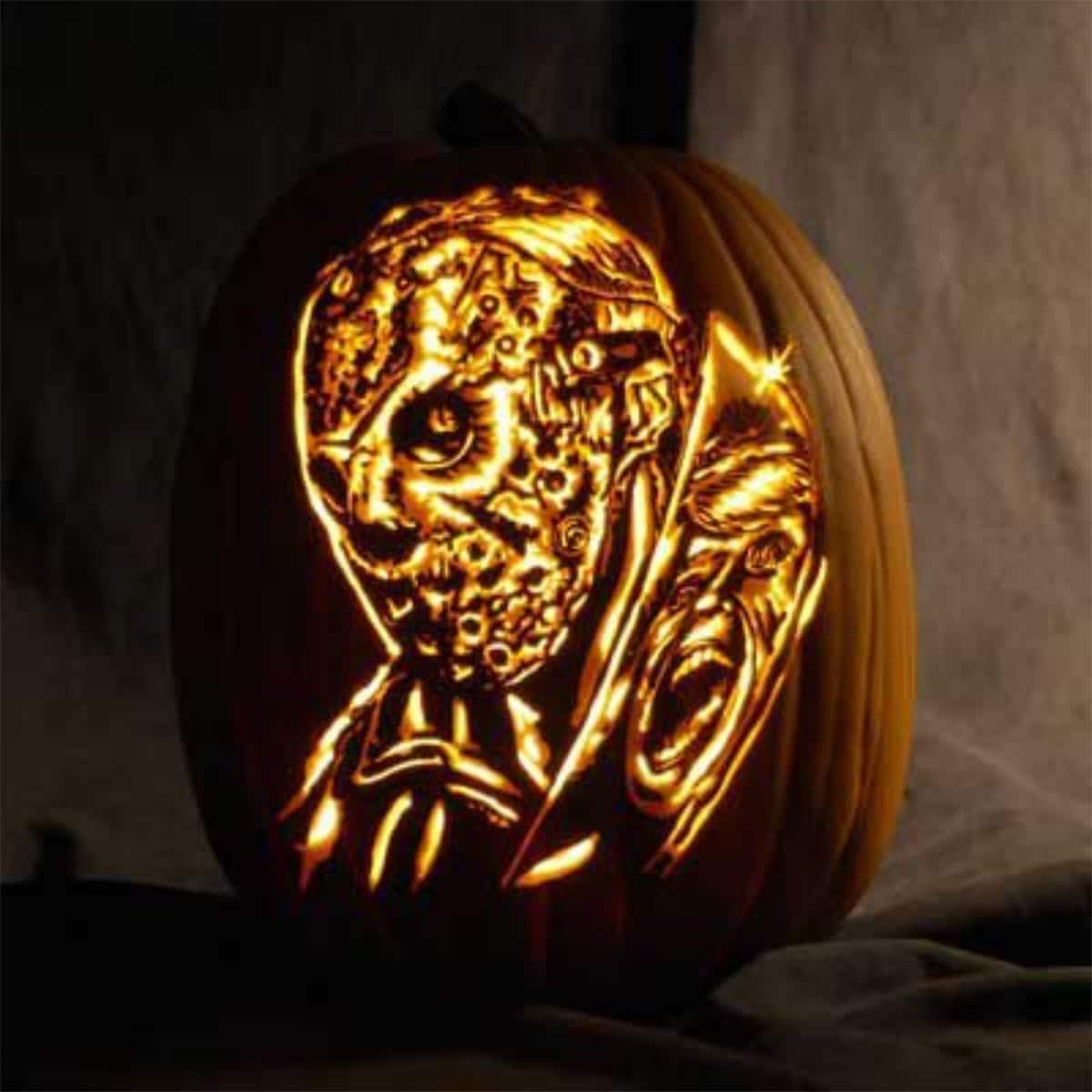 Freddy Krueger Pumpkin