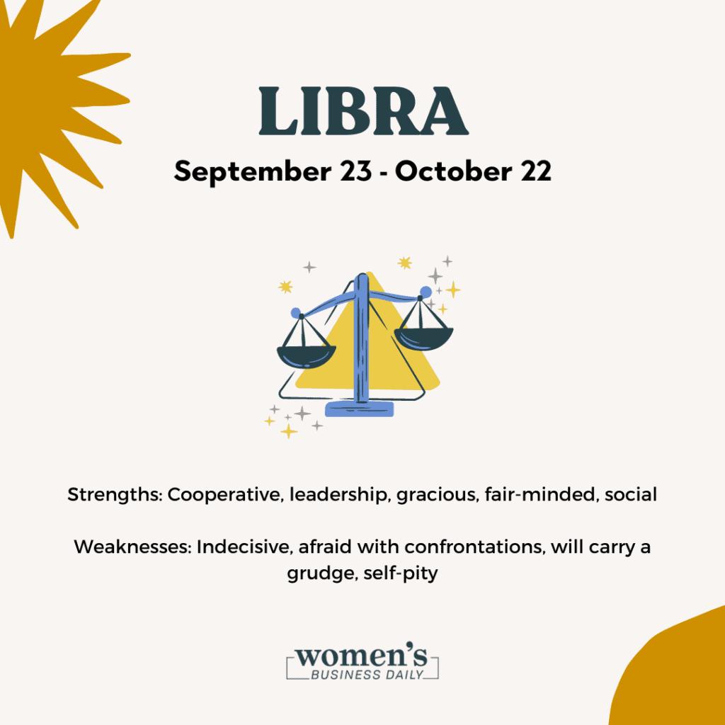 Libra zodiac sign