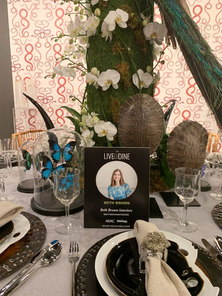 Table Settings: Beth Brown | Beth Brown Interiors