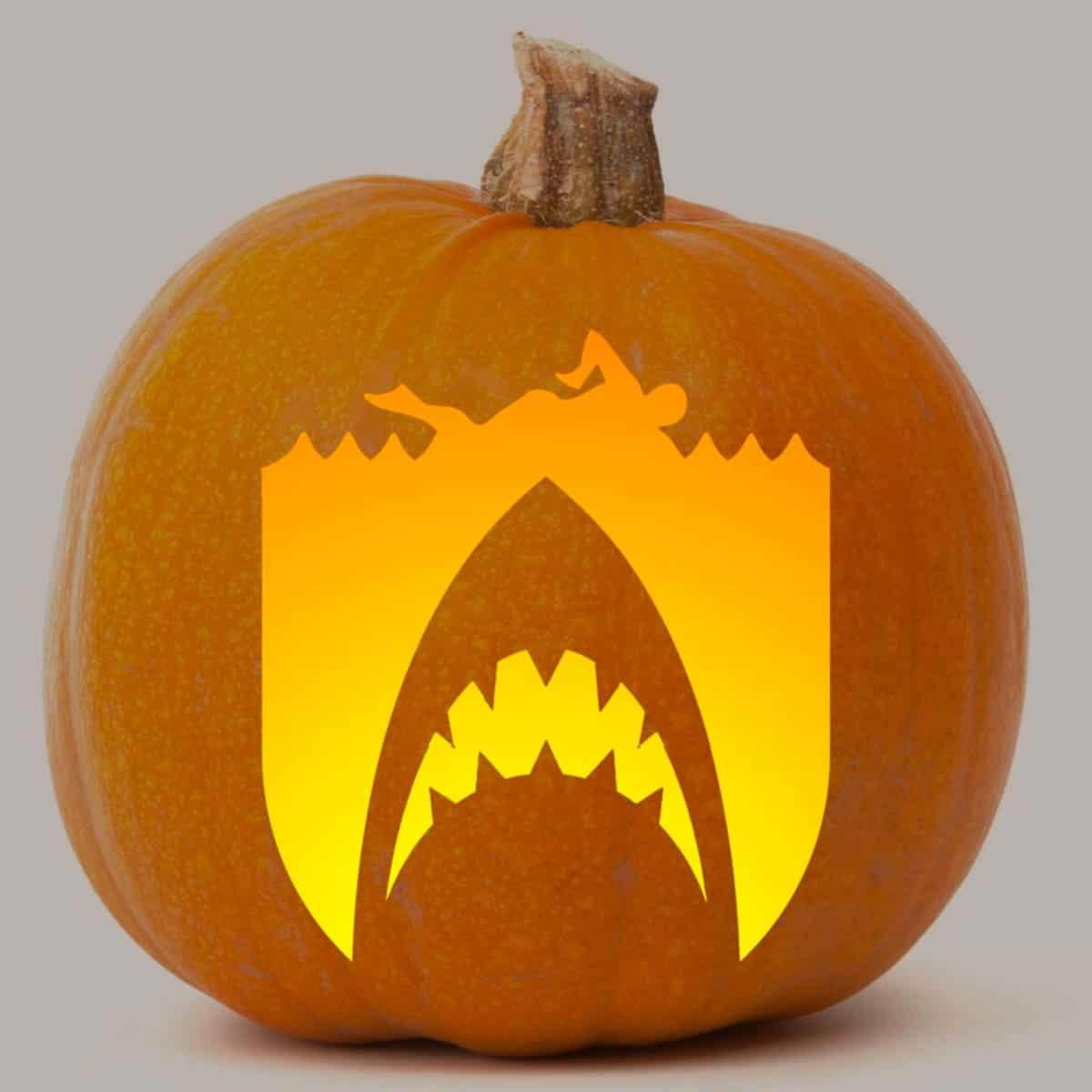 jaws pumpkin