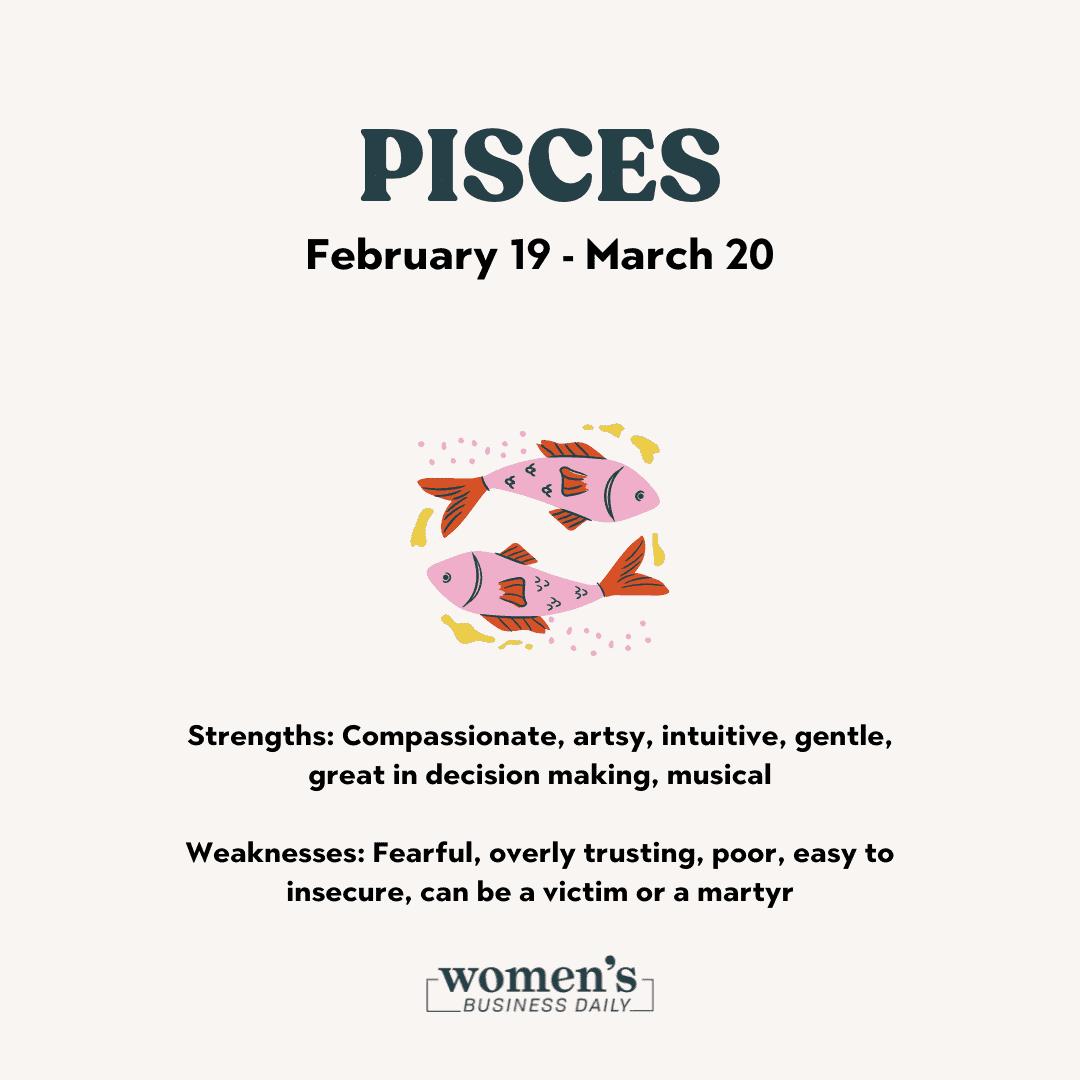 pisces sign zodiac