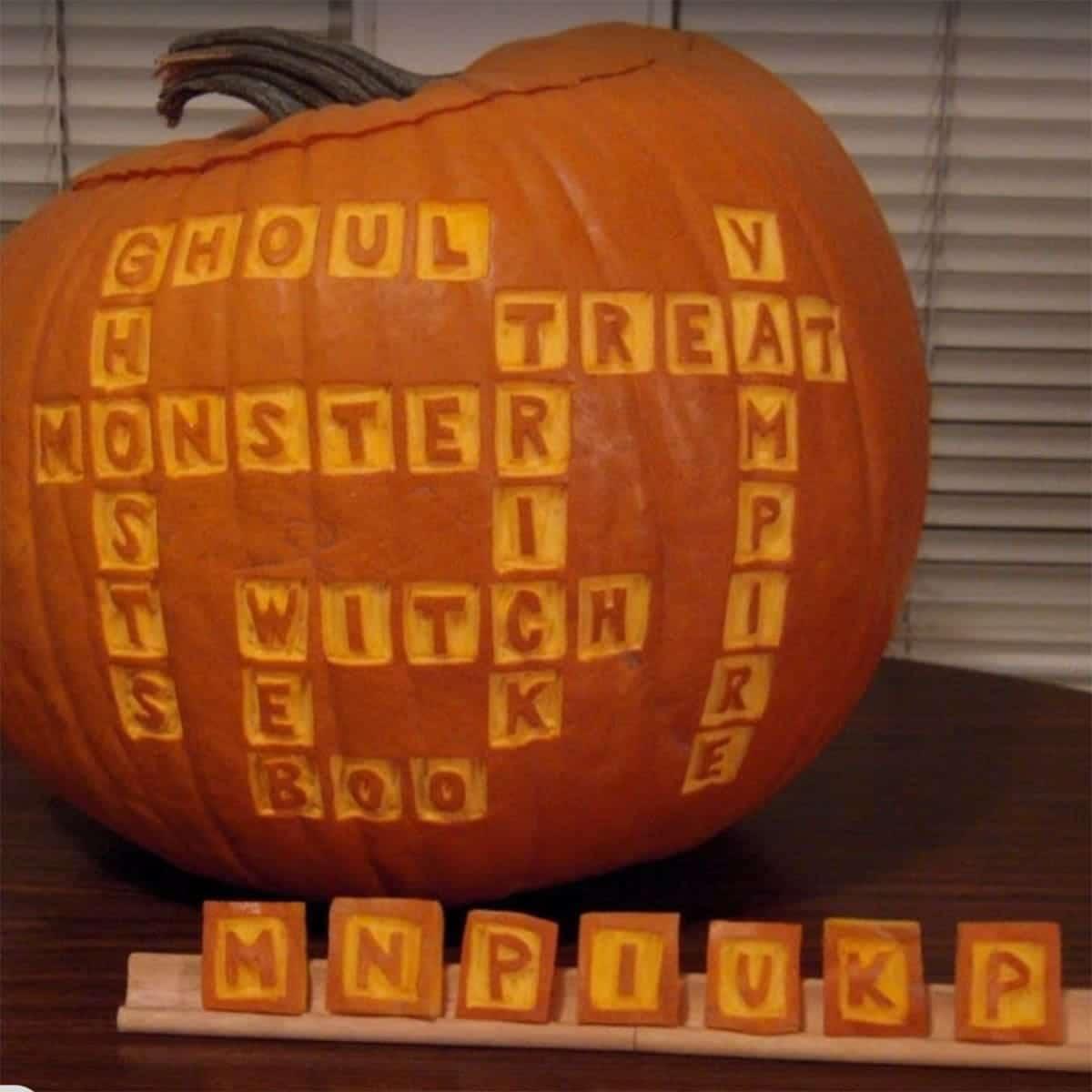 scabble pumpkin