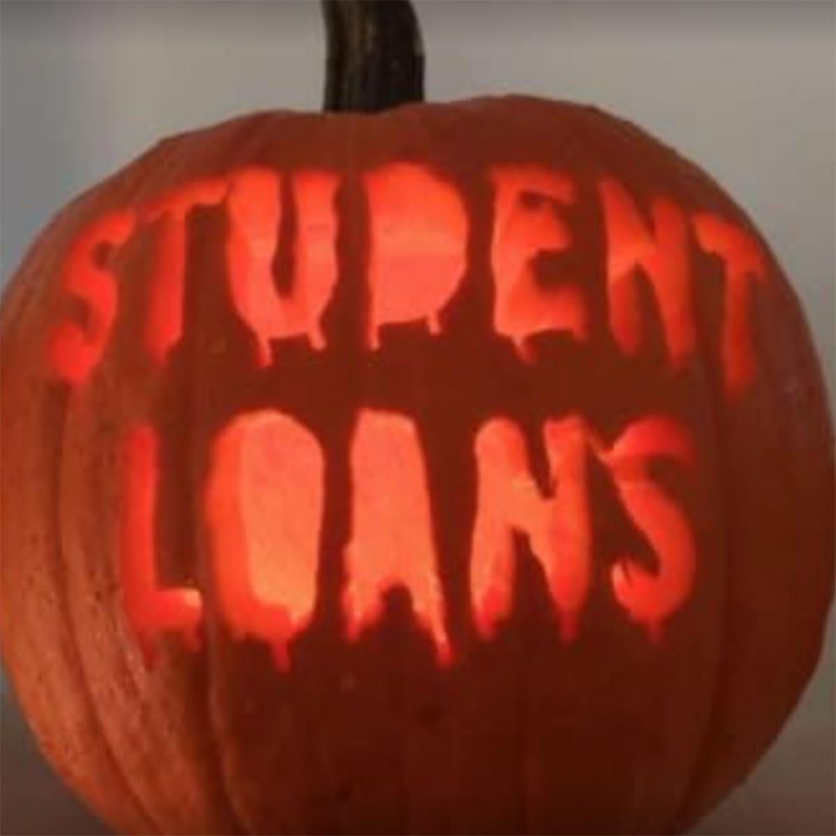 student loans pumpkin
